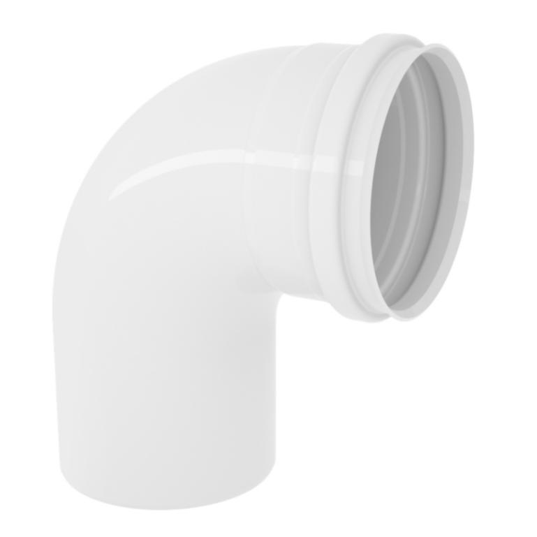 Curva Curto 90 para Esgoto PVC Rigido Branco 40 mm - Tigre