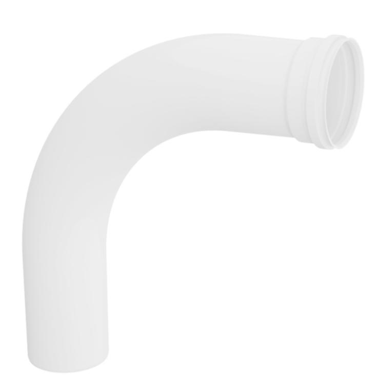 Curva Longo 90 para Esgoto PVC Rigido Branco 75 mm - Tigre