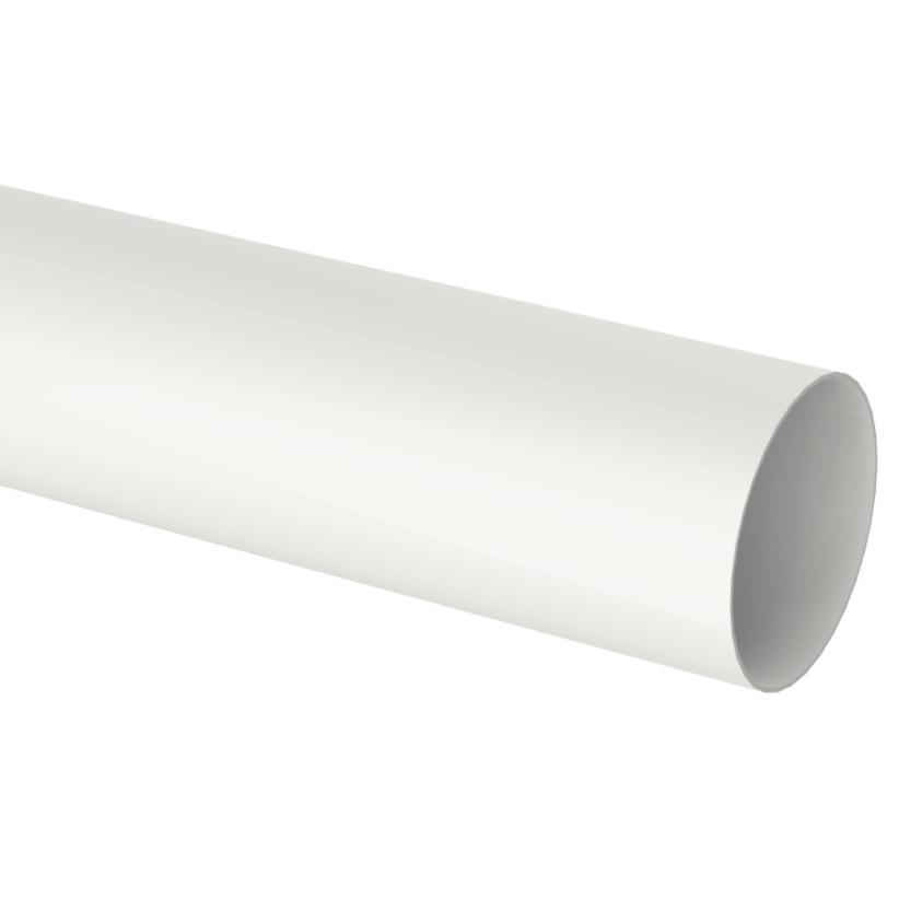 Condutor de PVC Circular 88 mm Branco - Aquapluv Tigre