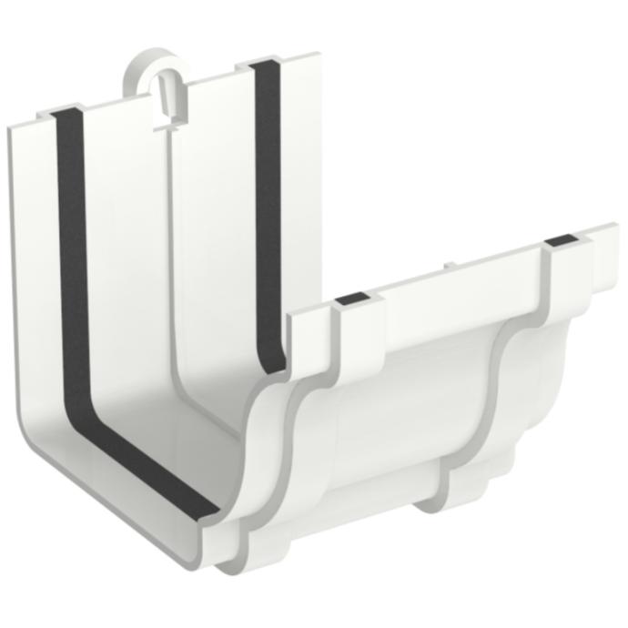 Emenda de PVC Retangular 132 x 89 mm Branco - Aquapluv Tigre