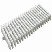 Grelha de Plástico Articulada Branca DN200 - Tigre
