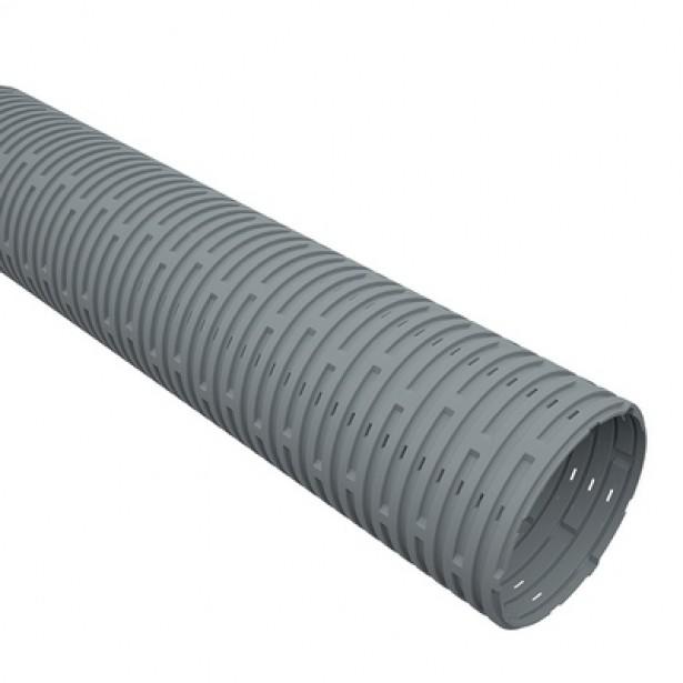Tubo Corrugado para Drenagem 100mm x 6m - Tigre