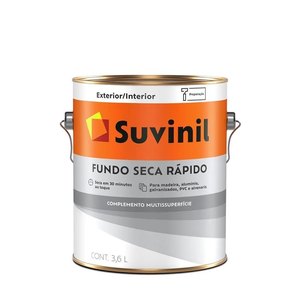 Fundo Preparador Seca Rapido 36L- Suvinil