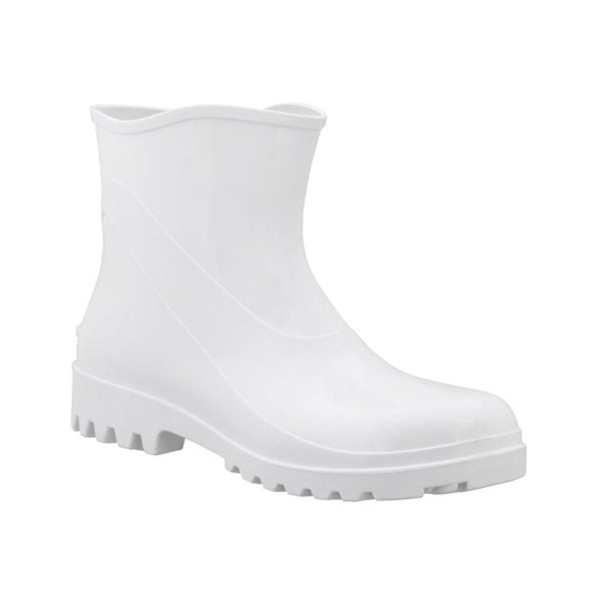 Bota de PVC Cano Extra curto Branco Numero 41 - Acqua Flex 82BPE - Bracol
