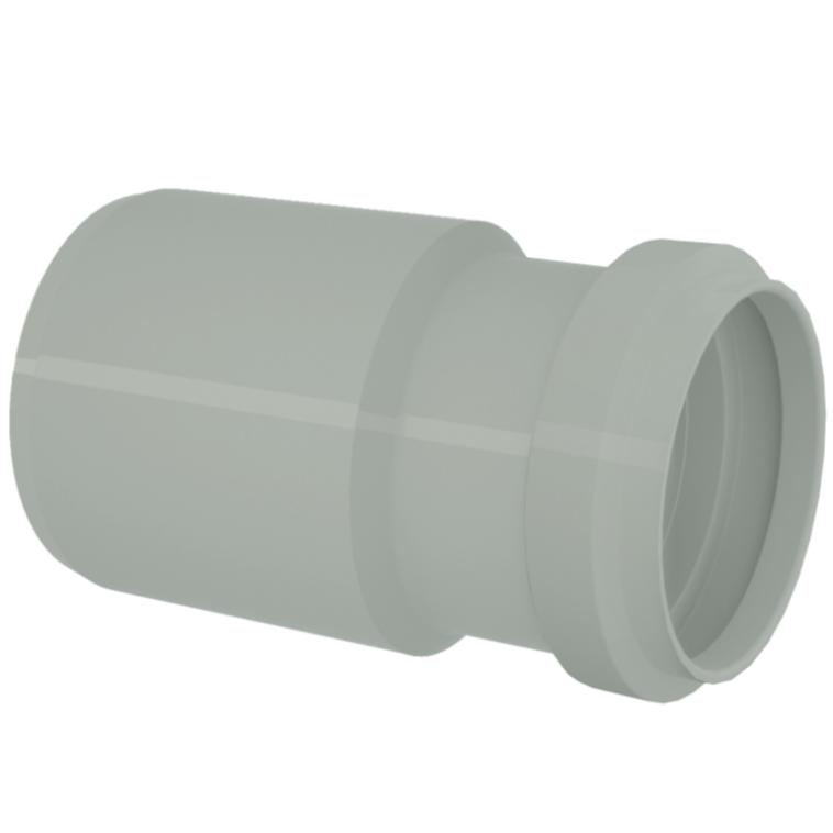 Bucha de Reducao Longo para Esgoto Reforcado PVC Cinza 50 mm x 40 mm - Tigre