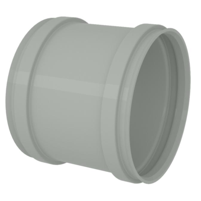 Luva de Correr para Esgoto Reforcado PVC Rigido Cinza 75 mm - Tigre