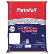 Rejunte L-Flex Cinza Platina Saco/1kg - PortoKoll