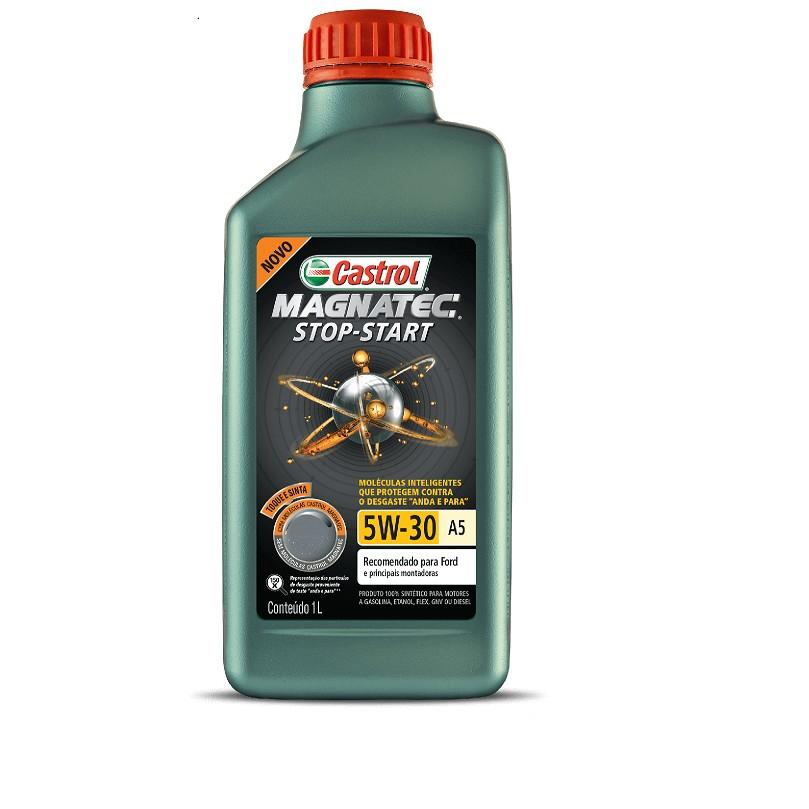 Oleo Lubrificante Magnetc Sintetico 5W30 1L - Castrol