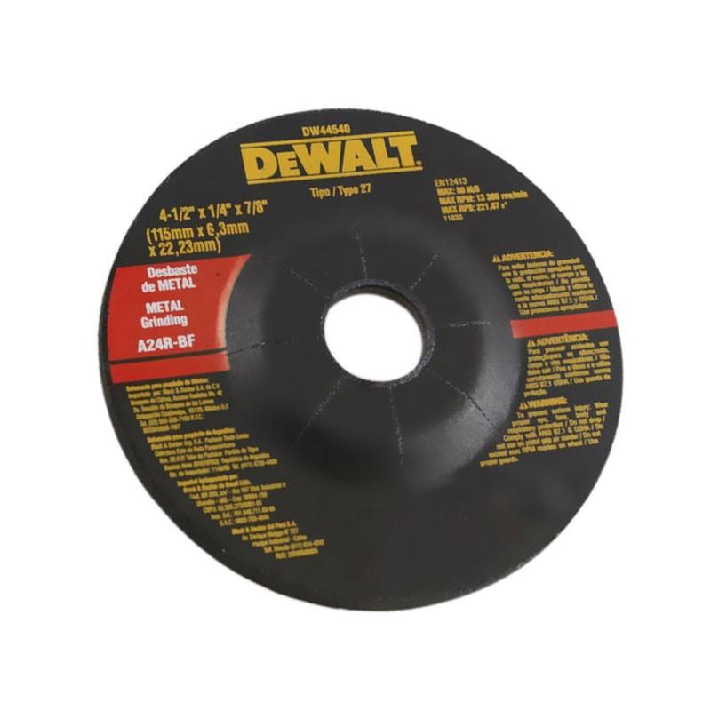Disco de Desbaste Metal 412x14x78 115x63x2223mm - DeWalt