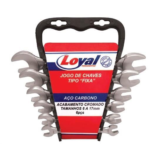 Jogo De Chaves Fixas 6 Pecas - Loyal