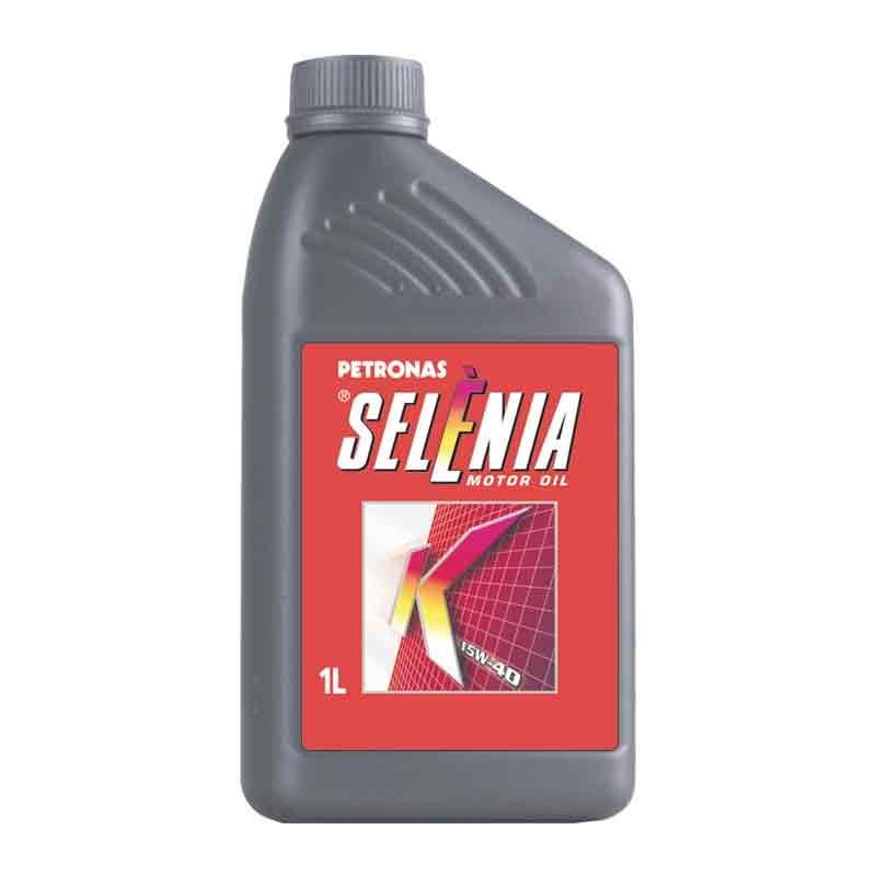 Oleo Lubrificante Selenia K Semissintetico 15W40 1L - Petronas