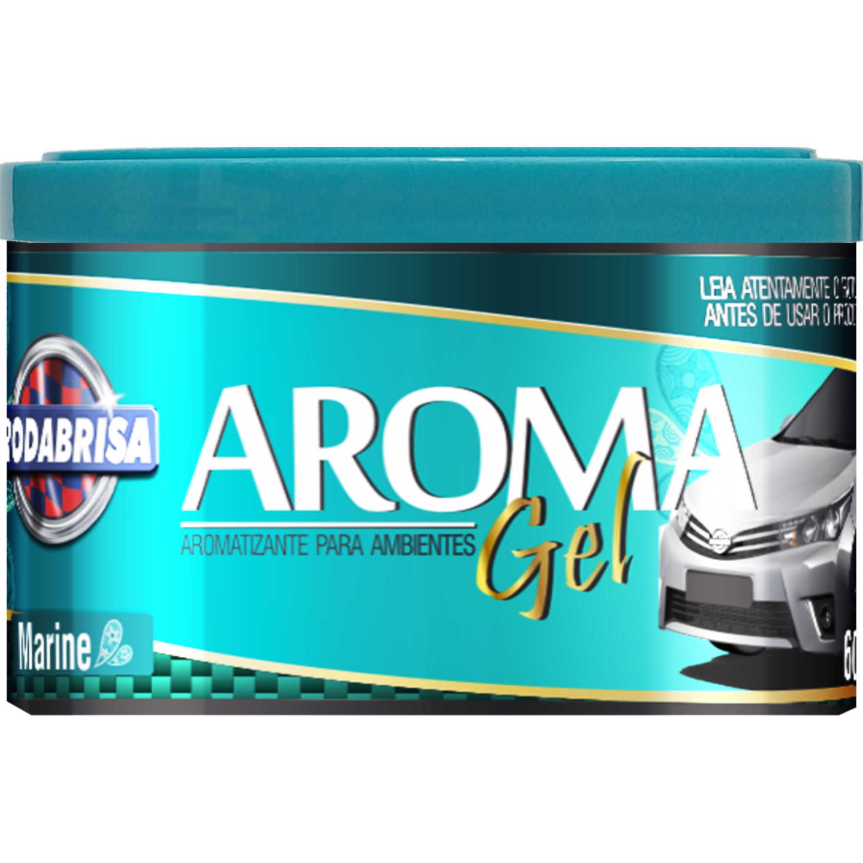 Aromatizante Gel Fragrancia Action 60g - Rodabrisa