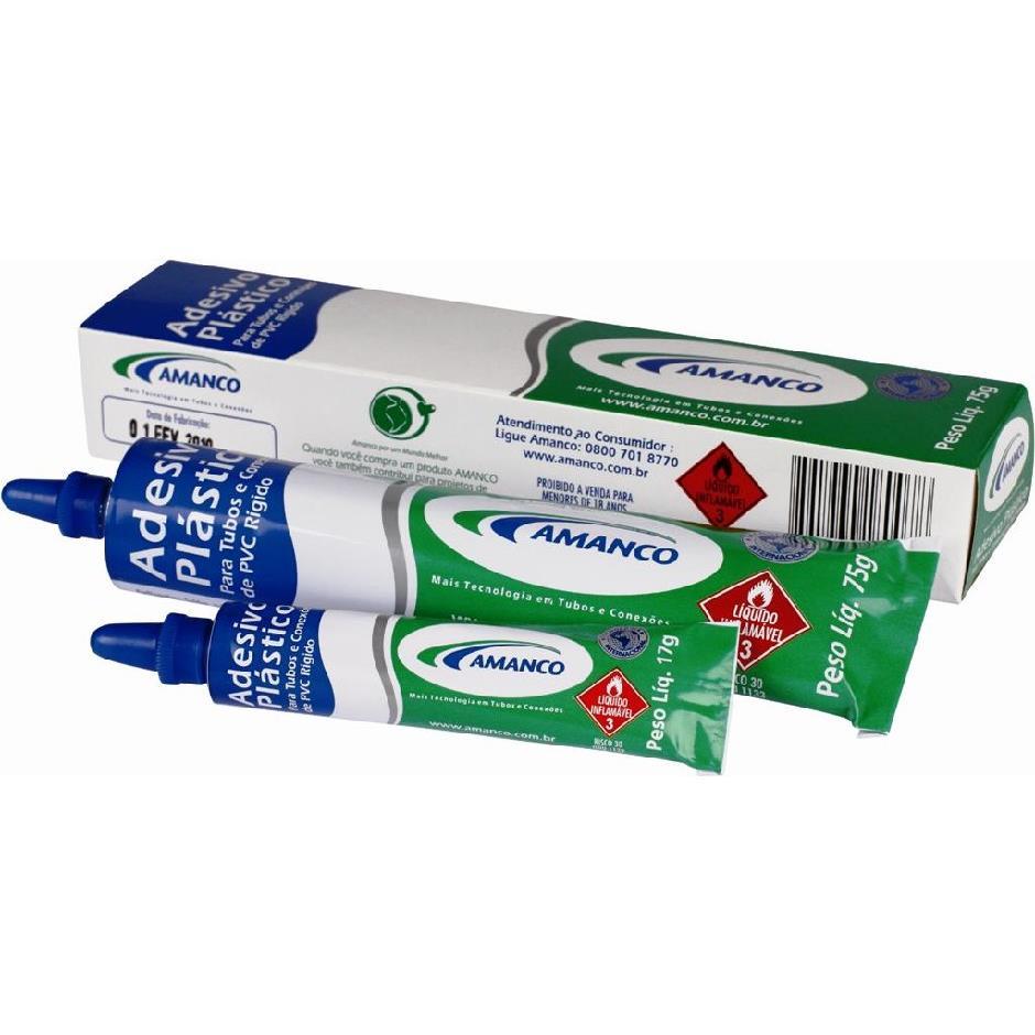 Adesivo para PVC 17 g - Amanco