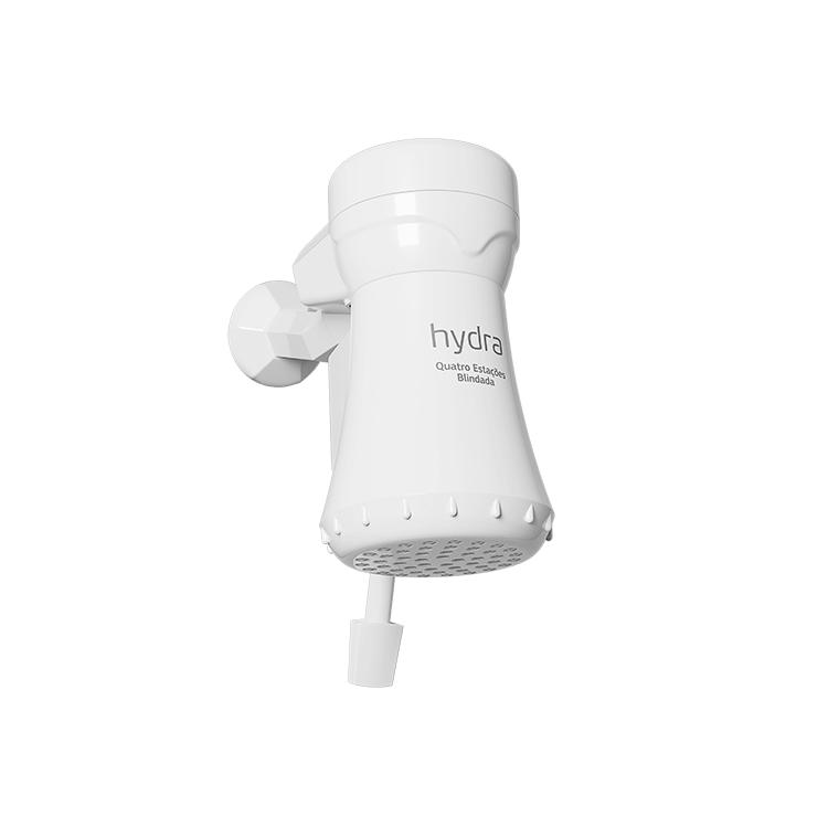 Chuveiro Blindado 6500W 220V Branco - 4 Estacoes Hydra