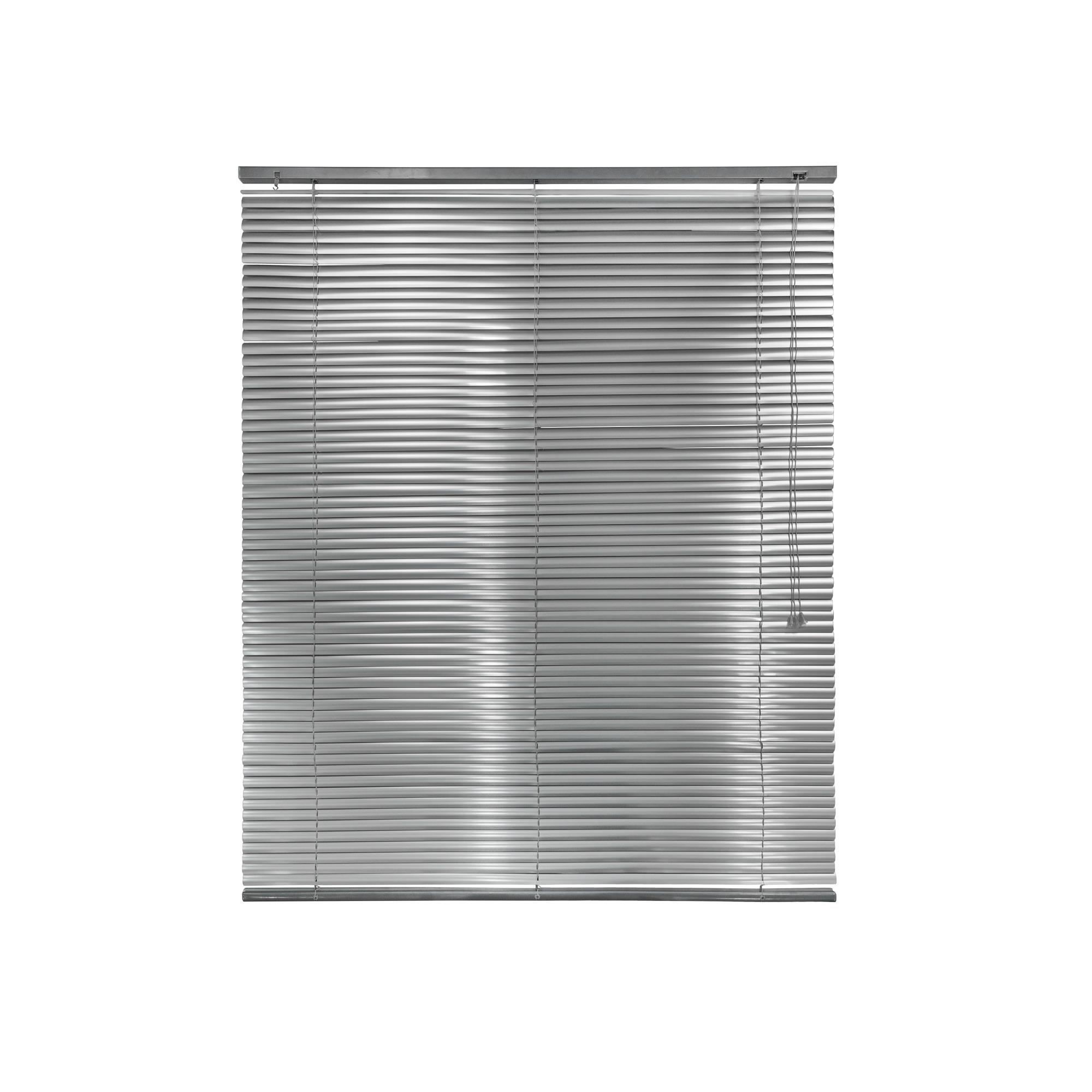 Persiana Horizontal Aluminio 160x150 cm Prata - Liyang