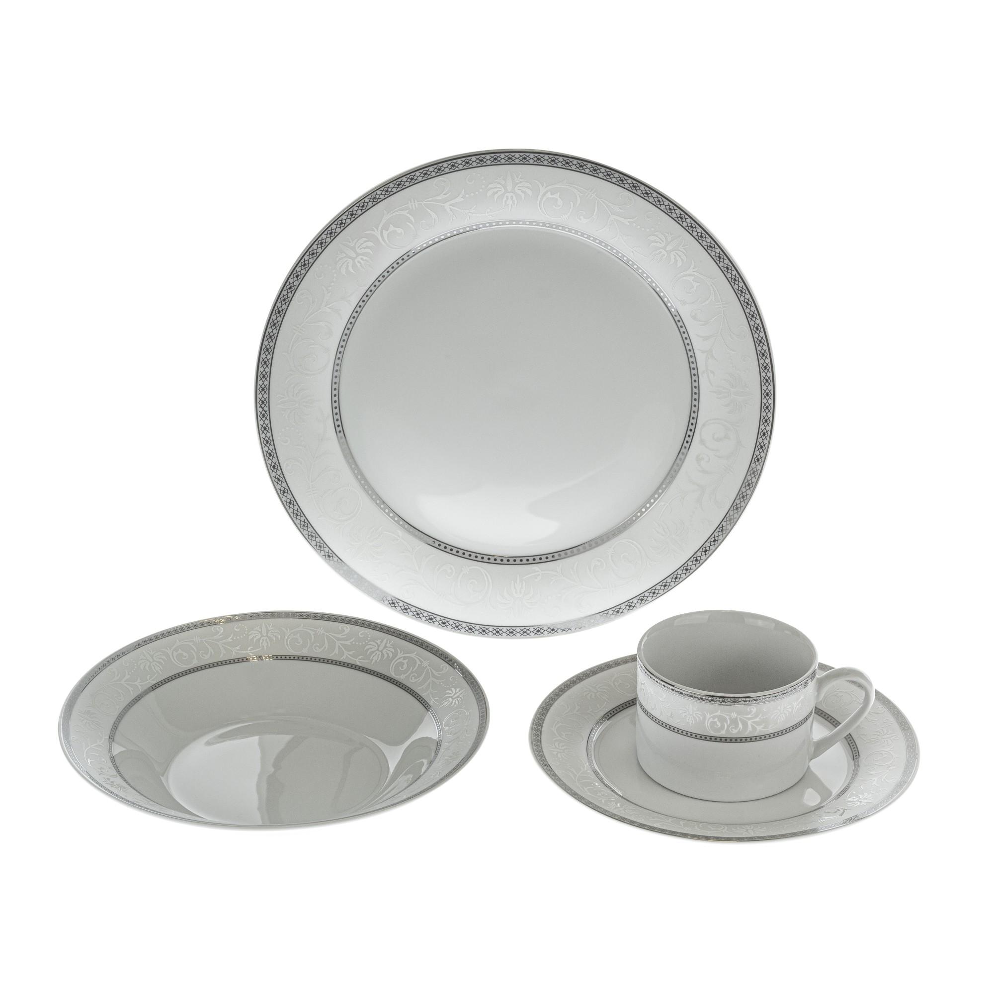 Aparelho de Jantar Porcelana Roma 20 Pecas 4216 - Bianchini
