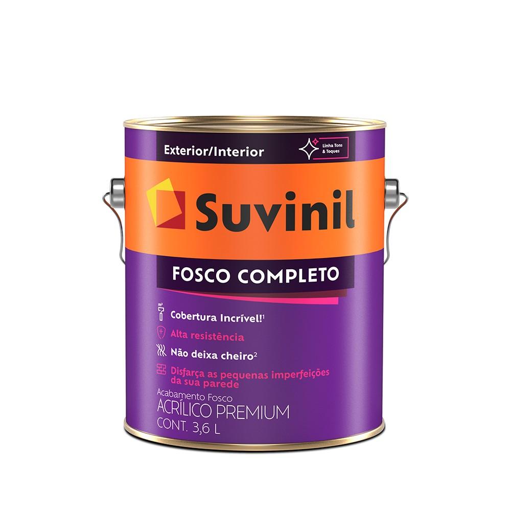 Tinta Acrilica Fosco Premium 36L - Algodao Egipcio - Fosco Completo Suvinil
