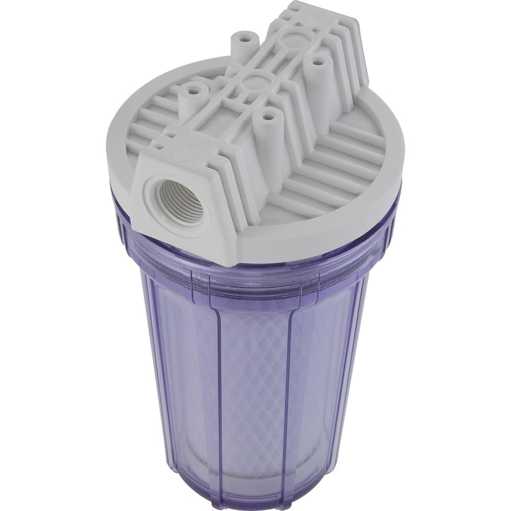 Filtro de Parede Plastico Bebedouro Pia Transparente POU 7 - Hidrofiltros