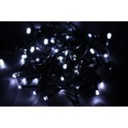 Pisca Pisca Led 100 Lâmpadas 8 Funções Cordão 5m Branco 220V - Ecoline