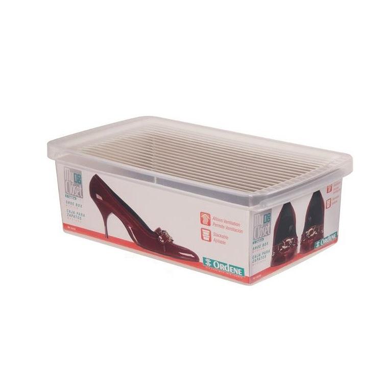 Caixa Organizadora de Sapatos 19x31cm - Ordene
