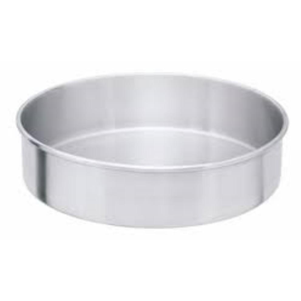Forma de Aluminio Polido para Bolo Redondo 24cm - Ipam