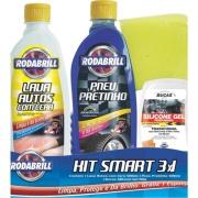 Kit De Limpeza Automotiva Smart 3X1 - Interbrilho