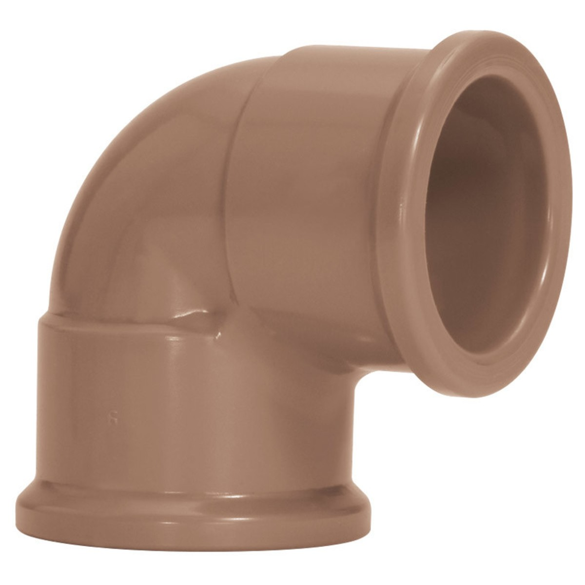 Joelho 90 Soldavel PVC Marrom 20 mm - Amanco