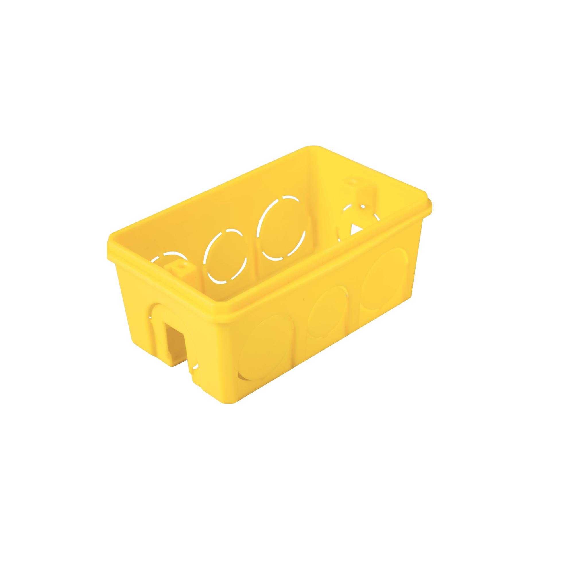 Caixa Eletrica de Plastico 4x2 Amarela 57500041 - Tramontina
