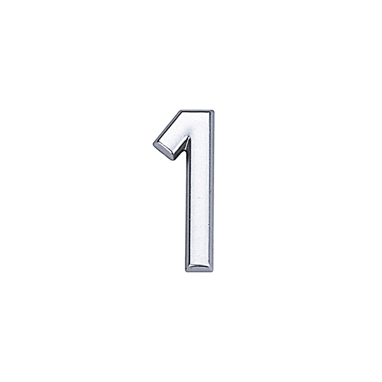Numero 1 ABS Cromado - Bemfixa