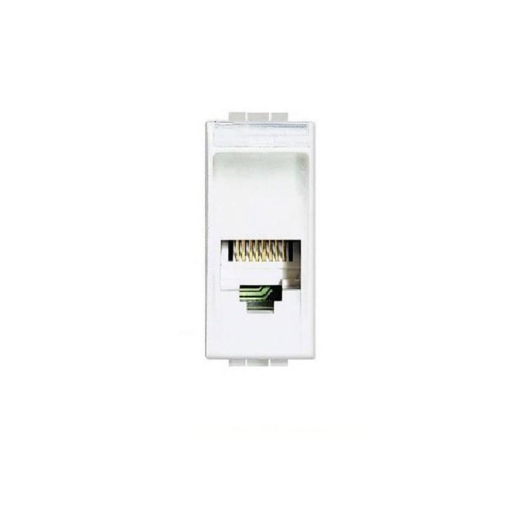 Modulo de Tomada de Dados RJ11 de Embutir Living Light Branco - Legrand