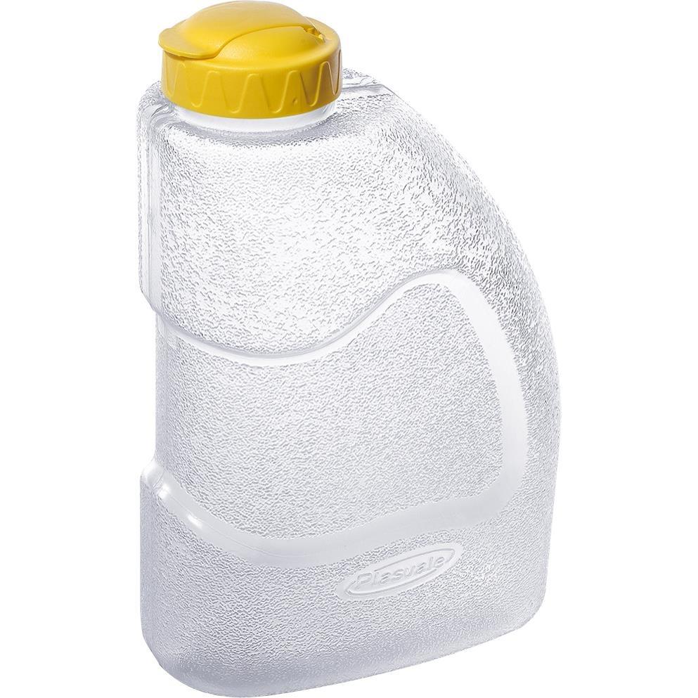 Garrafa de Plastico com Tampa 1600L Transparente - Plasvale