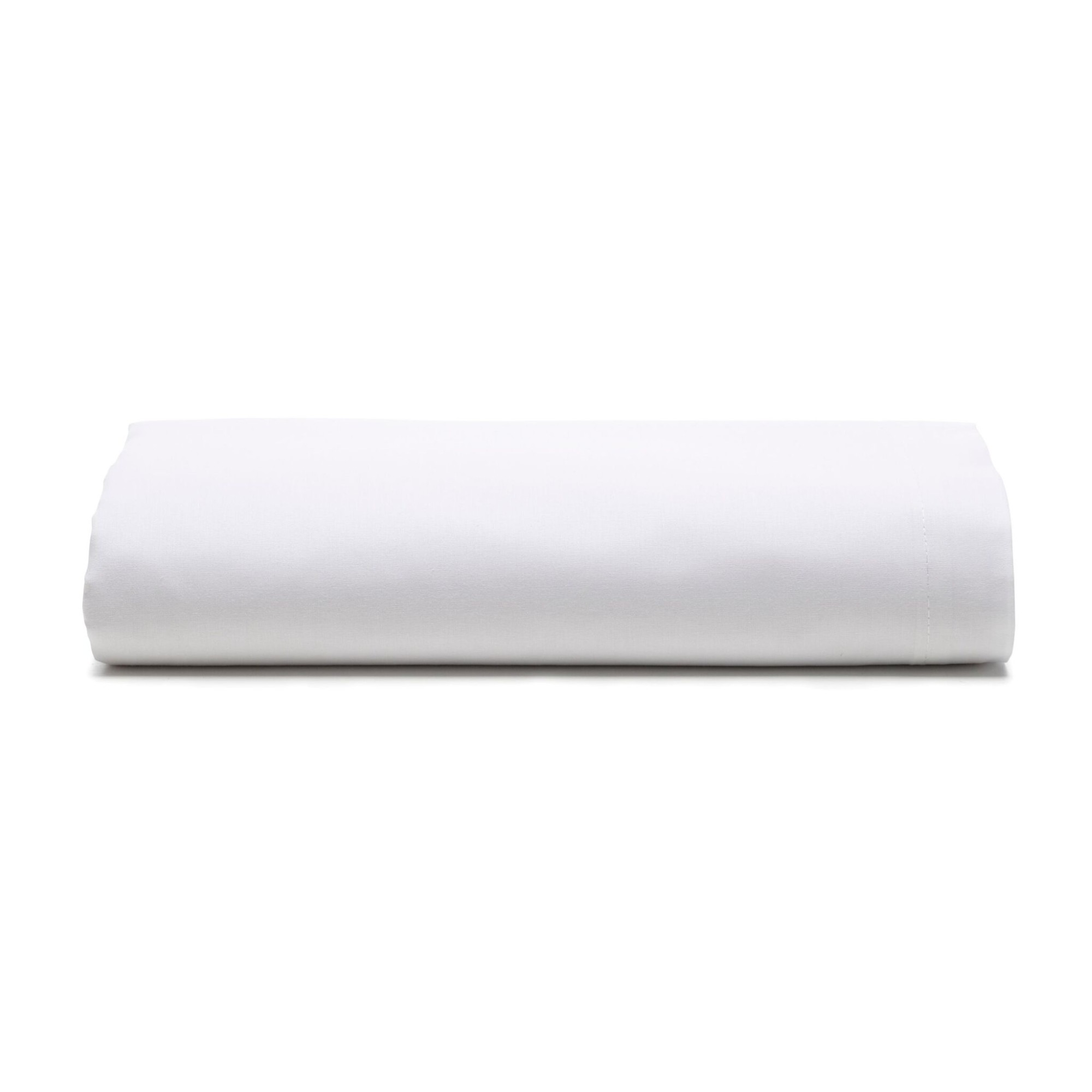 Lencol Solteiro Royal com Elastico 100 Algodao Branco - Santista