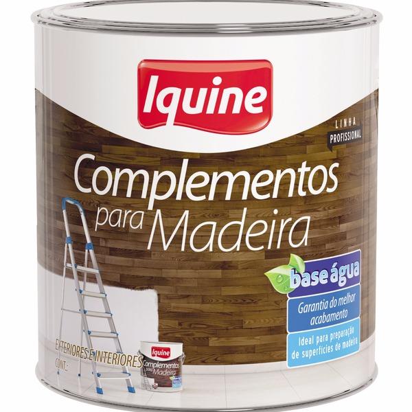 Massa Para Madeira - Branco - Quarto 09L 0Kg - Iquine
