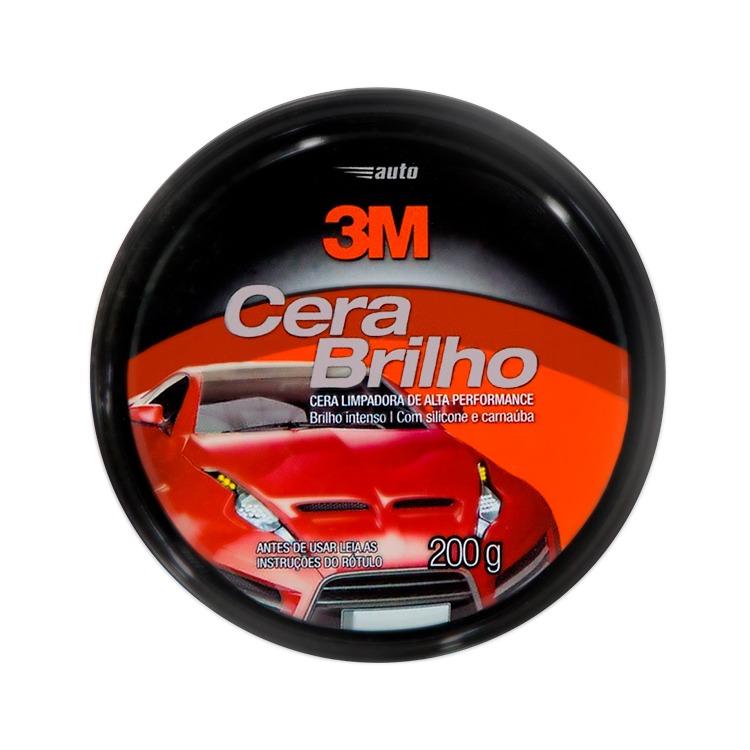 Cera Automotiva Brilho 200g - 3M
