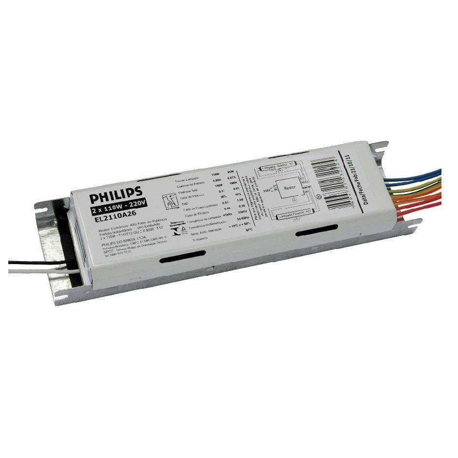 Reator Eletronico 2x85W 220V - Philips