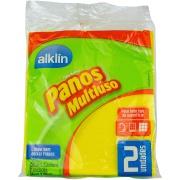 Pano para Limpea Multiuso 2 Peças - Aklin