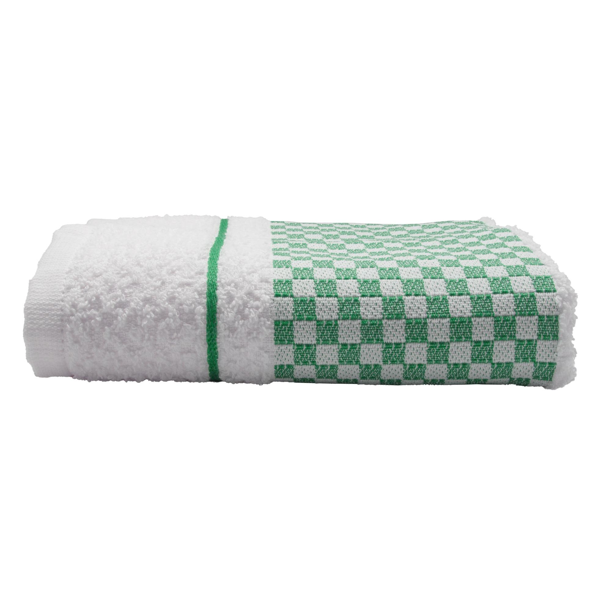 Pano de Copa Jacquard Vitoria Liso 45 x 70cm Verde - Dohler