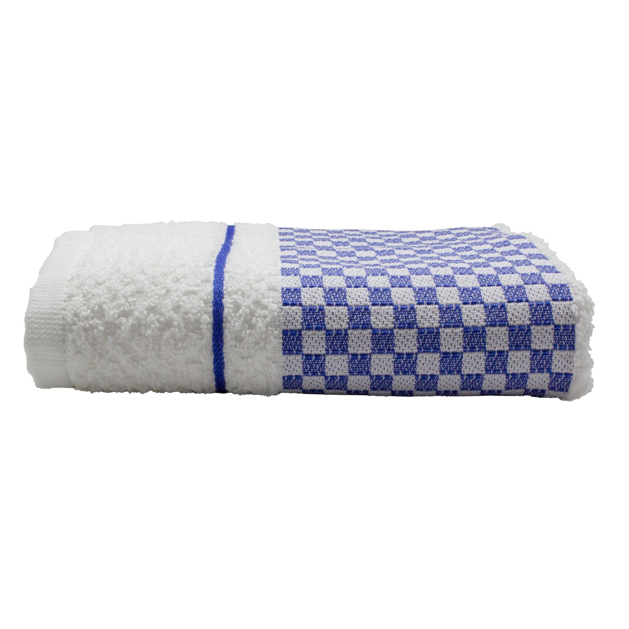 Pano de Copa Jacquard Vitoria Liso 45 x 70cm Azul Marinho - Dohler