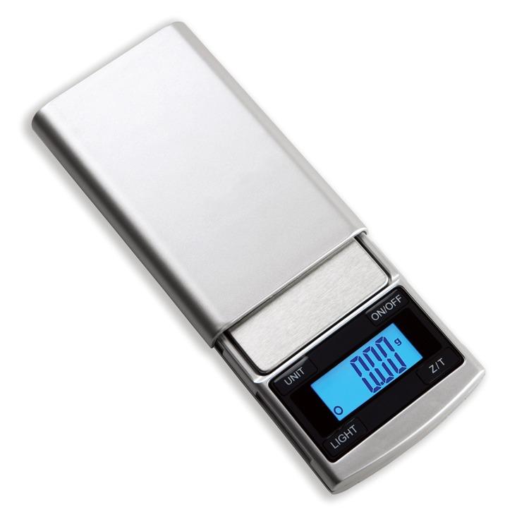 Balanca Eletronica Metal Pequena Peso 200g