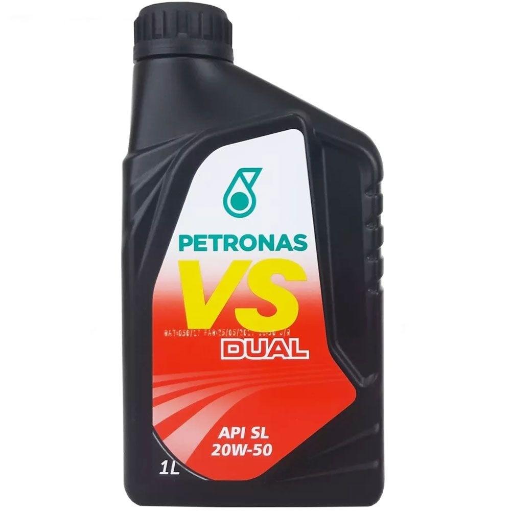 Oleo Lubrificante Mineral VS Dual SL 20W50 1L - Petronas