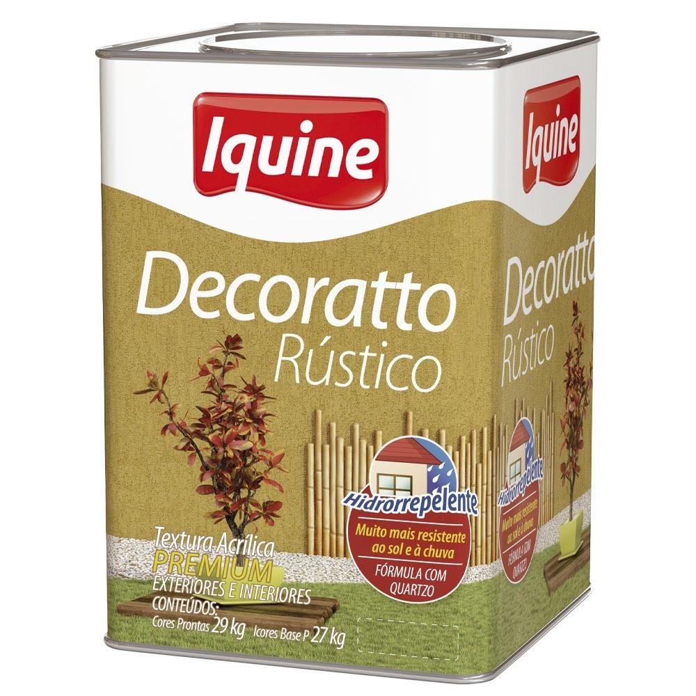 Textura Premium 290Kg - Marfim - Decoratto Rustico Iquine