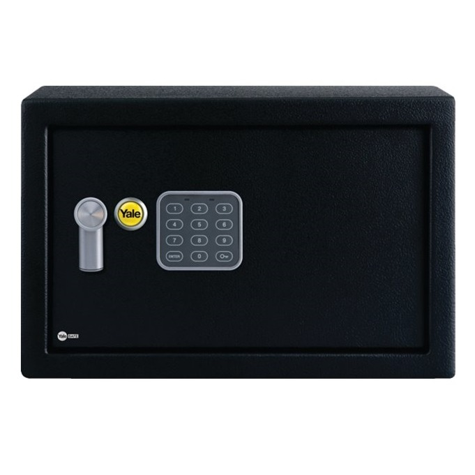Cofre com Segredo Eletronico Home 05552000 - Yale La Fonte