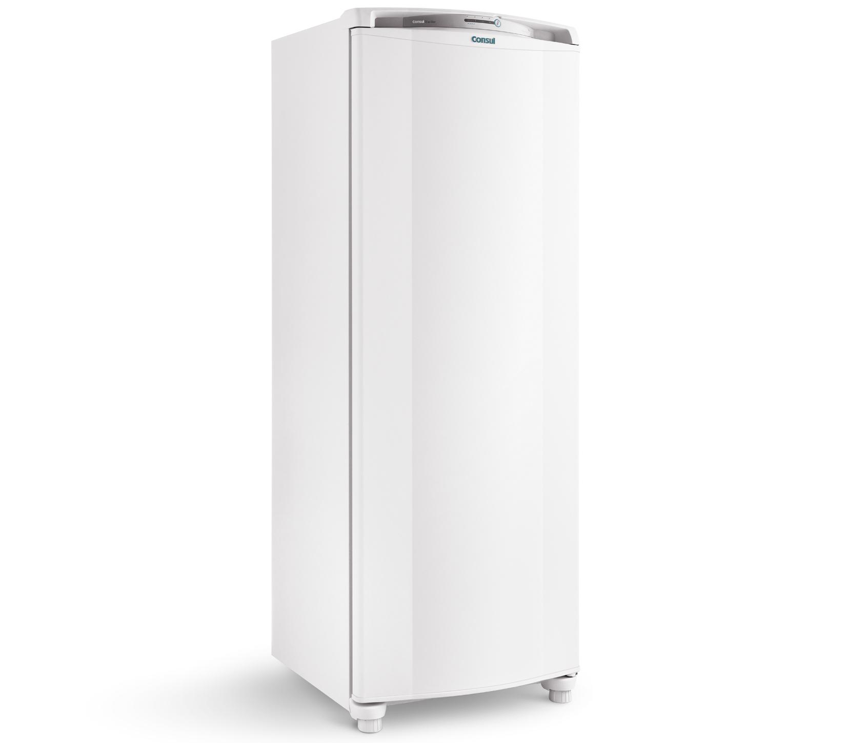 GeladeiraRefrigerador Consul Frost Free 1 Porta 342L Branco 127V - CRB39ABANA