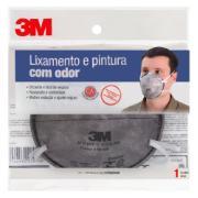 Máscara de Respiração Descartável Pintura 8713B - 3M