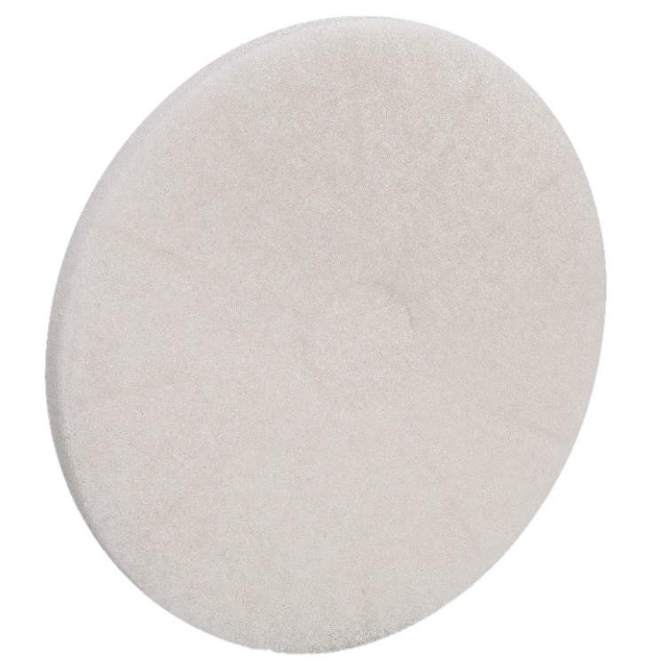 Disco para Enceradeira Lustrador 35cm Branco - Bettanin