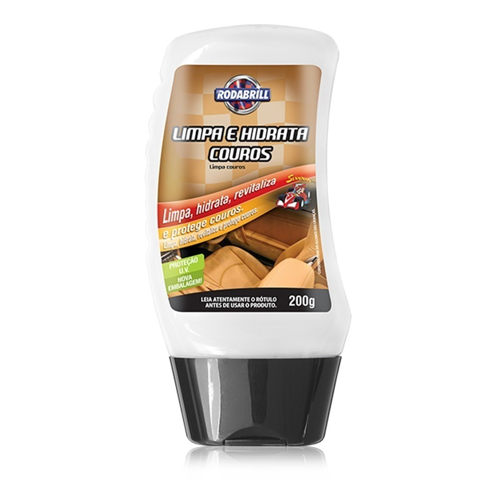 Limpador de Couro Hidratante 200 ml - 14073 - Rodabrill