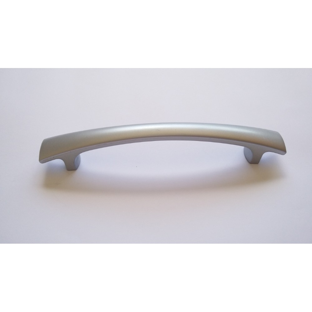 Puxador de Plastico 128 mm Aluminio - Itapema RF Puxadores