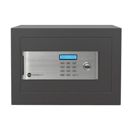 Cofre com Segredo Eletronico Home Certificado 5542000 - Yale La Fonte