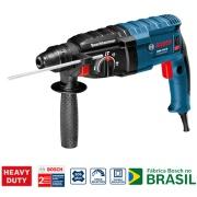 Martelete Perfurador Bosch GBH 2-24D 820W 220V com Maleta