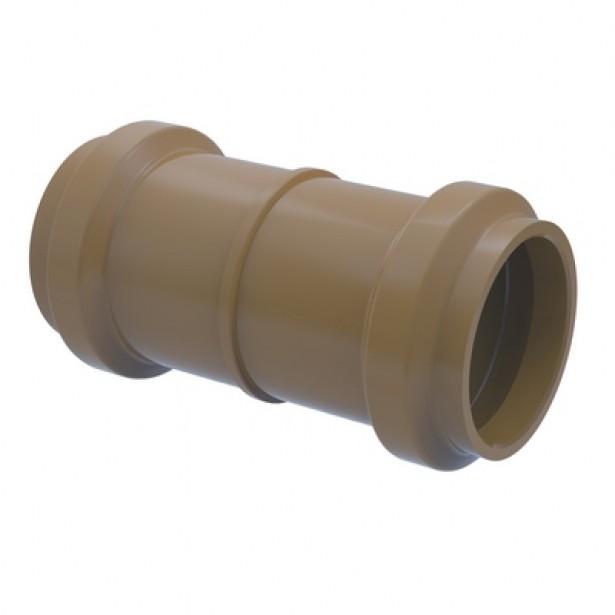 Luva de Correr PVC Marrom 60 mm - Tigre
